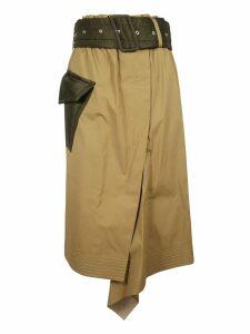 Sacai Asymmetric Skirt