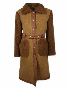Courrèges Belted Wait Coat
