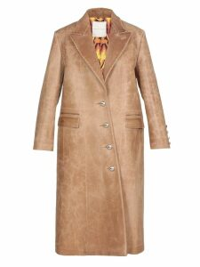 Marco de Vincenzo Leather Coat