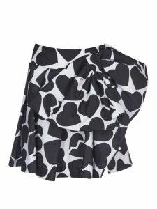 MSGM Hearts Skirt