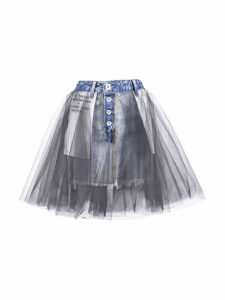 Ben Taverniti Unravel Project Tulle Insert Skirt