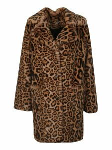 Parosh Animal Print Coat