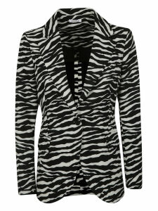 Parosh Animal Print Blazer