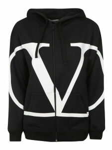 Valentino Hooded Zipped Jacket