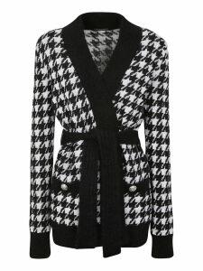 Balmain Tie Waist Cardi Coat