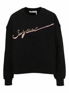 See By Chloe Signature Logo Sweatshirt