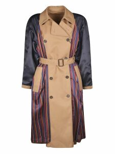 Tommy Hilfiger Double-breasted Reversible Belted Trench