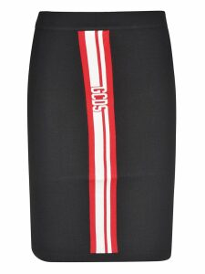 GCDS Logo Skirt
