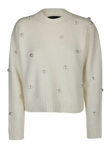 Alanui Below Zero Drop Studs Sweater
