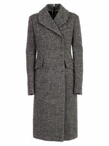N.21 Coat Boucle W/zip Behind