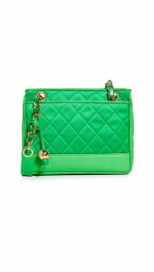 What Goes Around Comes Around Chanel Lambskin Shoulder Bag