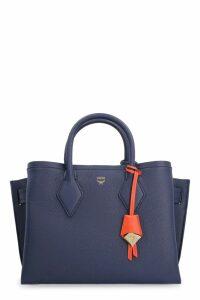 MCM Neo Milla Leather Handbag