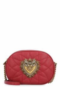 Dolce & Gabbana Devotion Leather Camera Bag