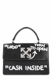 Off-White 2.8 Jitney Leather Handbag