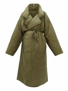 Norma Kamali - Sleeping Bag Reversible Coat - Womens - Khaki