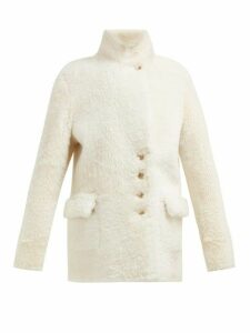 Joseph - Lyne Reversible Shearling Coat - Womens - Ivory