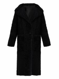 Joseph - Maybelle Reversible Shearling Coat - Womens - Black