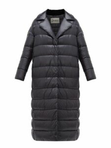 Herno - Layered Quilted Down Jacket - Womens - Black