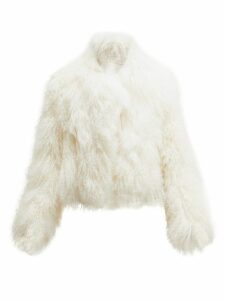 Ann Demeulemeester - Lisa Reversible Shearling Coat - Womens - Ivory