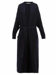 Extreme Cashmere - No.105 Big Coat Cashmere Blend Cardigan - Womens - Navy