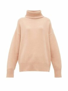 Extreme Cashmere - No.20 Oversize Xtra Cashmere Blend Sweater - Womens - Light Pink