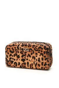 Dolce & Gabbana Leopard-printed Pouch