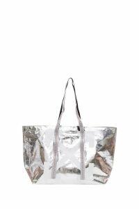 Off-White Silver Arrows Tote Bag