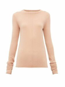 Extreme Cashmere - N°114 Basic Cashmere Blend Sweater - Womens - Light Pink