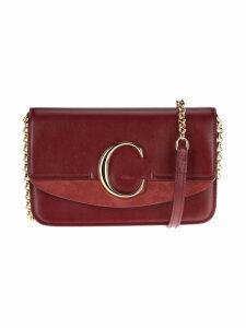 Chloe C Plaque Crossbody Bag