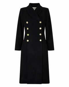 Monsoon Rosalie Fit And Flare Coat