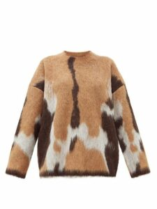Acne Studios - Kelphine Knitted Sweater - Womens - Camel