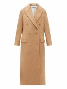 Katharine Hamnett London - Simona Double Breasted Camel Coat - Womens - Camel