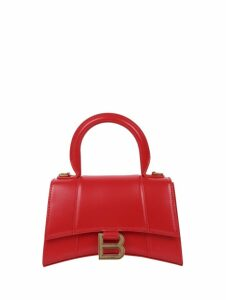 Balenciaga Red Hour Bag Xs