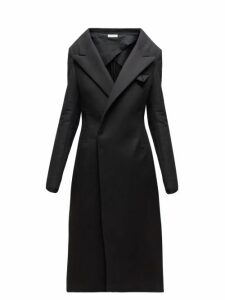 Bottega Veneta - Double Breasted Cashmere Coat - Womens - Black