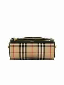 Burberry Barrel Bag Beig/bk