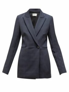 The Row - Koja Single Breasted Scuba Blazer - Womens - Navy
