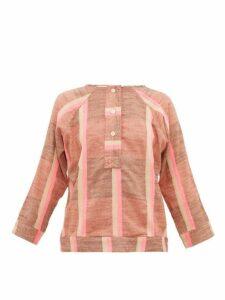 Ace & Jig - Sue Striped Cotton Top - Womens - Beige Multi