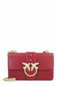 Pinko Mini Love Leather Shoulder Bag