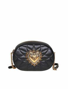 Dolce & Gabbana Shoulder Bag Devotion In Nappa Matelassé