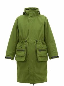 Templa - 2l Moss Hooded Parka - Womens - Green