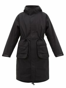 Templa - 2l Moss Hooded Parka - Womens - Black