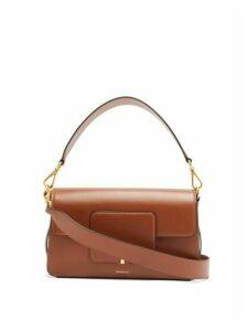 Wandler - Georgia Leather Shoulder Bag - Womens - Tan