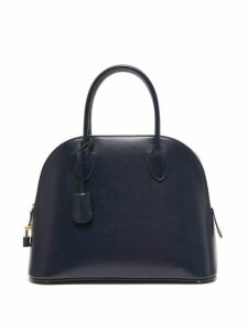 The Row - Lady Bag Leather Handbag - Womens - Navy