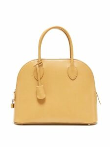 The Row - Lady Bag Leather Handbag - Womens - Light Yellow