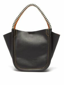 Proenza Schouler - Xs Rope Handle Leather Tote - Womens - Black