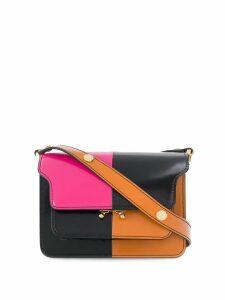 Marni Trunk colour-block shoulder bag - Black