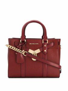 Michael Michael Kors Hamilton Legaccy tote bag - Red