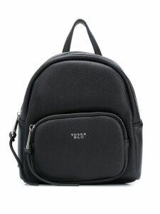 Tosca Blu textured backpack - Black
