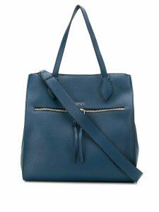 Tosca Blu textured shoulder bag - Blue