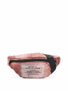 Diesel packable belt bag - Brown